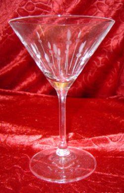 Coupe cocktail cris cristal