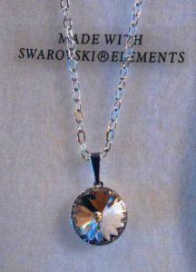 collier cristal swarovski lentille 002