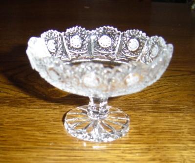 Coupe dentelle cristal