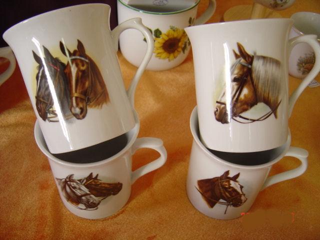 Mug chevaux