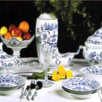 porcelaine oignon