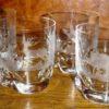 Verres whisky gibier cristal